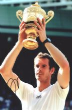 Andy Murray Autograph Photo Signed - Wimbledon Champion